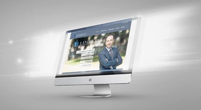 Kanzlei Landucci mit neuer Website. Hier finden Sie alle Infos zum Rechtsanwalt Köln für Familienrecht