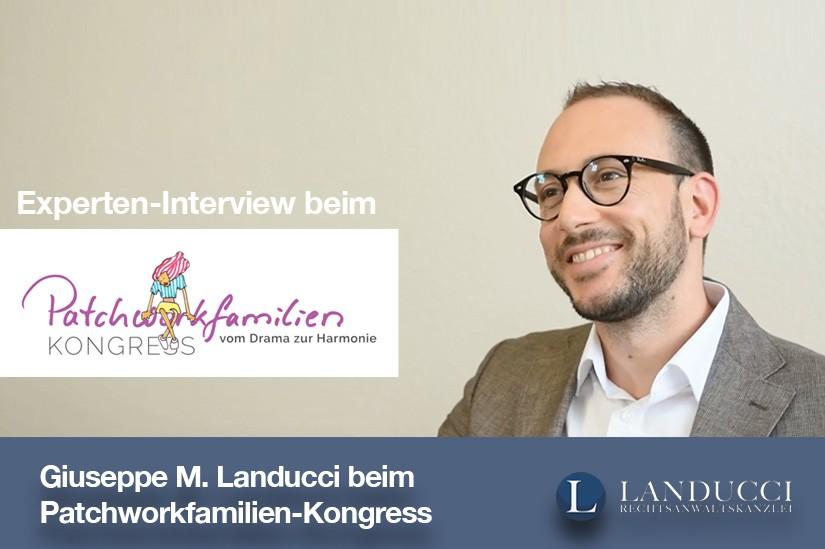 Giuseppe M. Landucci beim Patchworkfamilien-Kongress