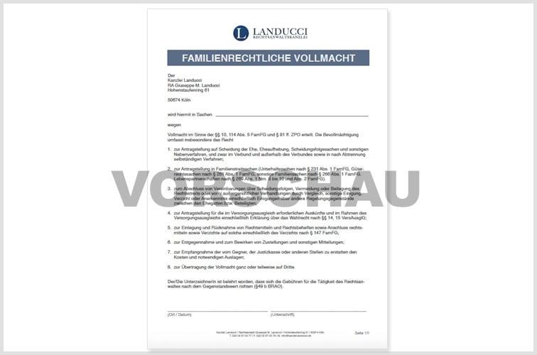 Downloads Formulare Kanzlei Landucci Familienrecht In Köln
